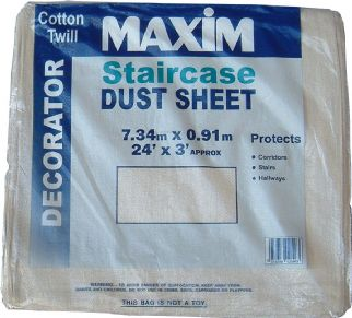 Maxim STAIRCASE Dust Sheet